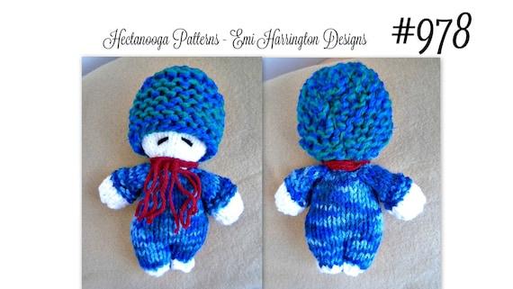 Knit Baby Doll Softie Knitting Pattern Sleepy Time Doll Etsy