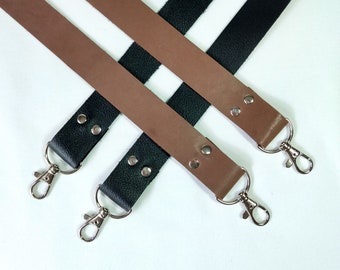 Leather Bag Purse clip-on replacement strap 1