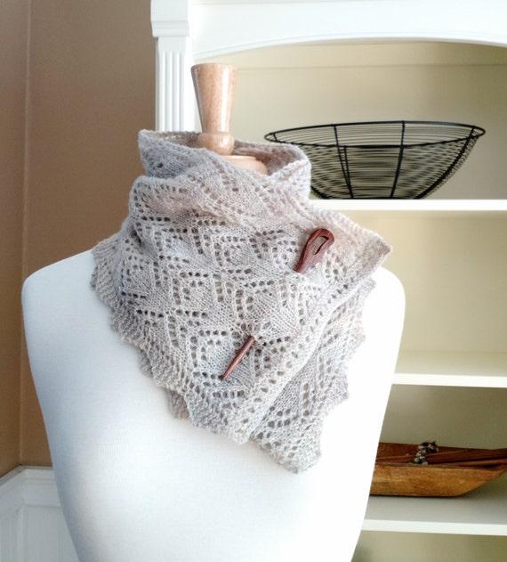 Knitting Lace Scarf Pattern Pdf Smoky Mountain Morning Mist Etsy