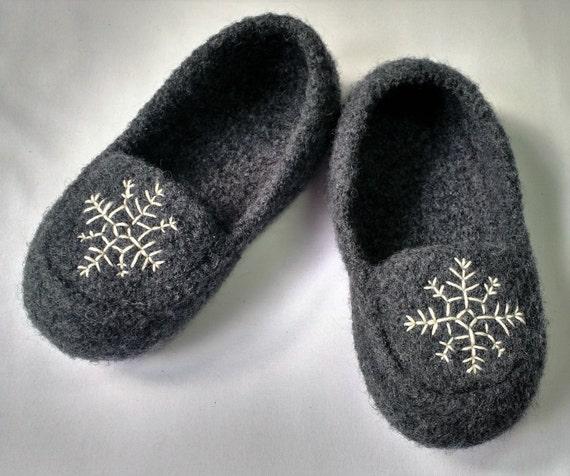 d35599b3b81804 Knitting Slipper Pattern Womens Felted Wool Loafer Slipper