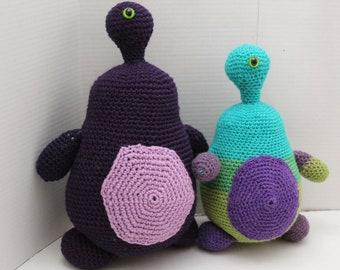 Crochet One Eyed Monster, Crochet Monster, Monster, Stuffed Toy, Plush Toy, Safe Toddler Toy, Crochet Doll, Crochet Toy, Amigurumi, Birthday