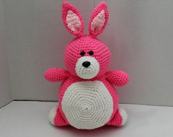 Rabbit, Bunny, Easter Bunny, Crochet Rabbit, Amigurumi, Crochet Bunny, Soft Plush Toy, Easter, Easter Basket, Gift, Bunny Plush, Stuffed Toy