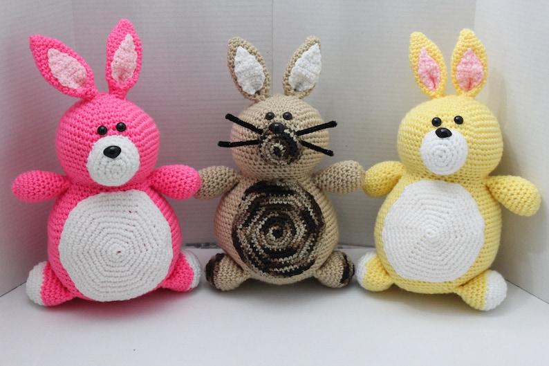 Rabbit Bunny Easter Bunny Crochet Rabbit Amigurumi image 0