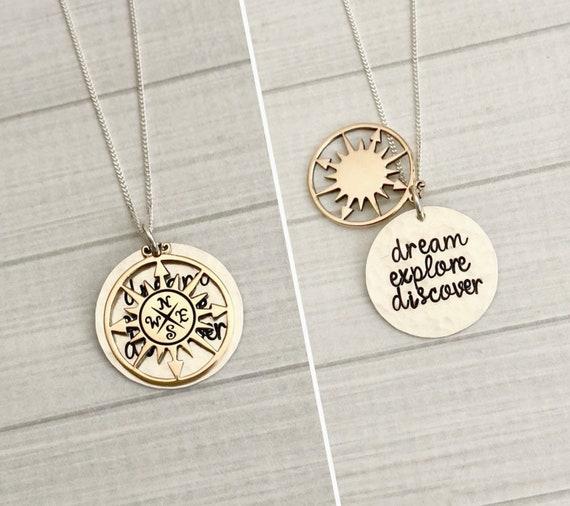 & Graduation Jewelry Dream Explore Discover Graduation Gift | Etsy