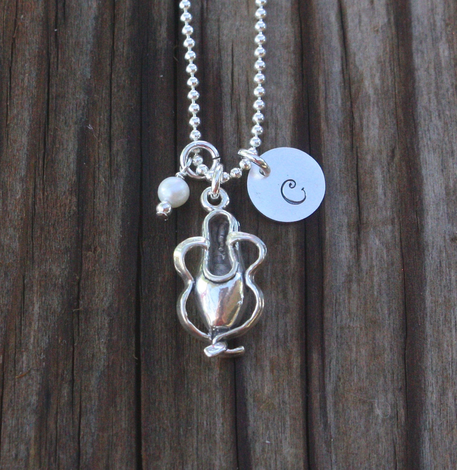 dance necklace, ballet necklace sterling silver, personalized dance jewelry, personalized ballet jewelry, dance jewelry