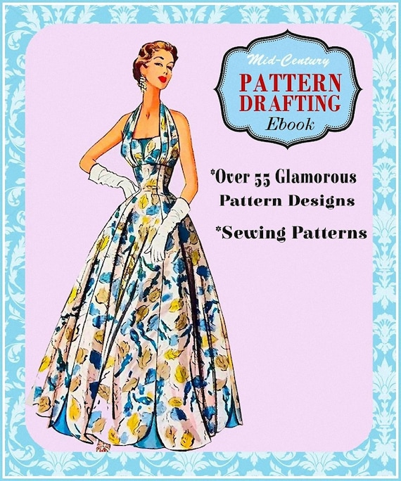 1950s Pattern Drafting Ebook Over 55 High Fashion Etsy