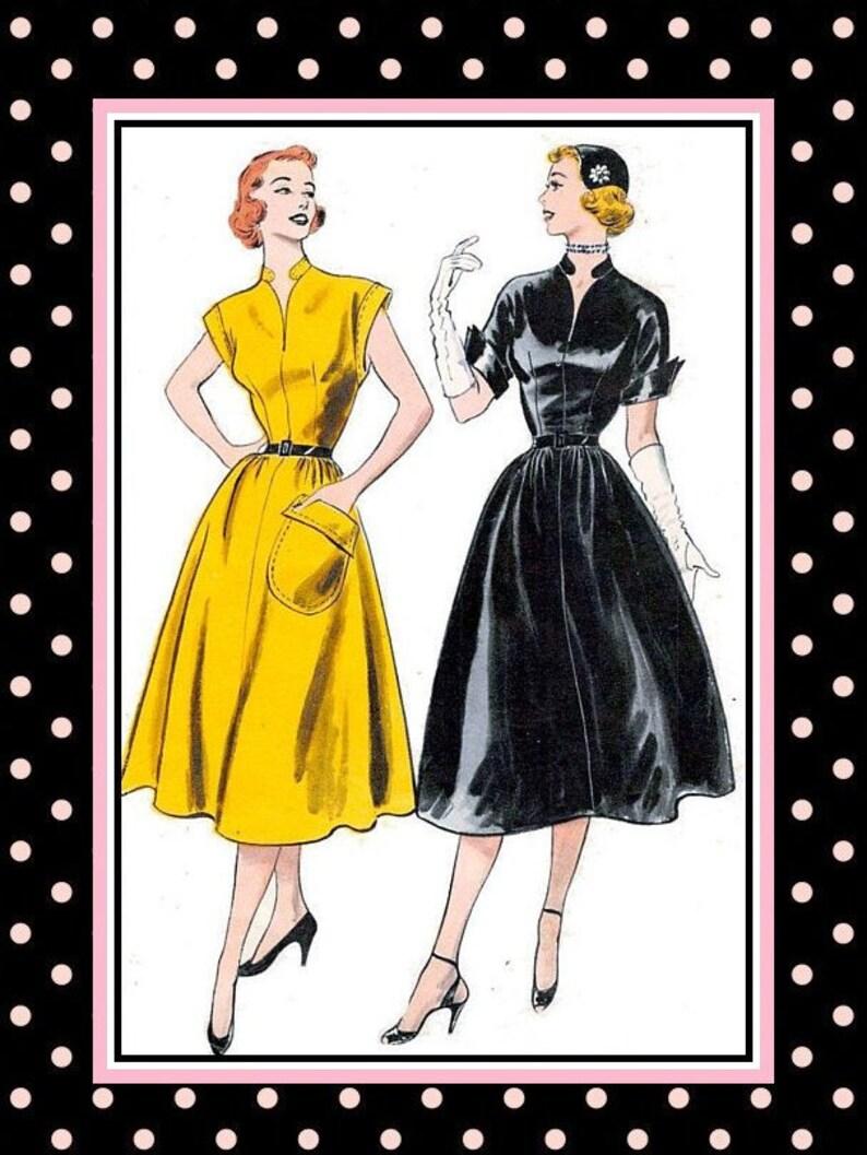 91806c3ae10 Vintage 1952-jaime LUCY Style robe de couture patron-Kimono