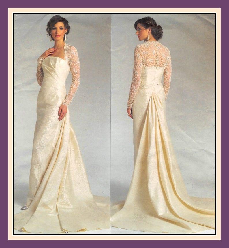 dfad37046b4 DIVINE BRIDAL GOWN-Vogue Designer Sewing