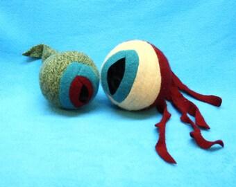2 Prototype Dragon eyes, fresh and rotton.