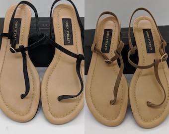 5f6aa8b0b667a4 1997 VS x Colin Stuart sandals sz 8