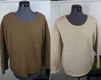 4b09e5679f0 90 s J. Jill fuzzy sweater sz M
