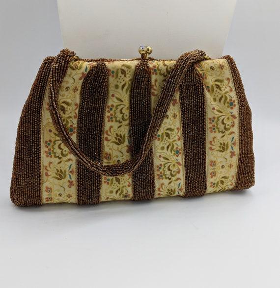 RARE 1930's Charbet Beaded Handbag