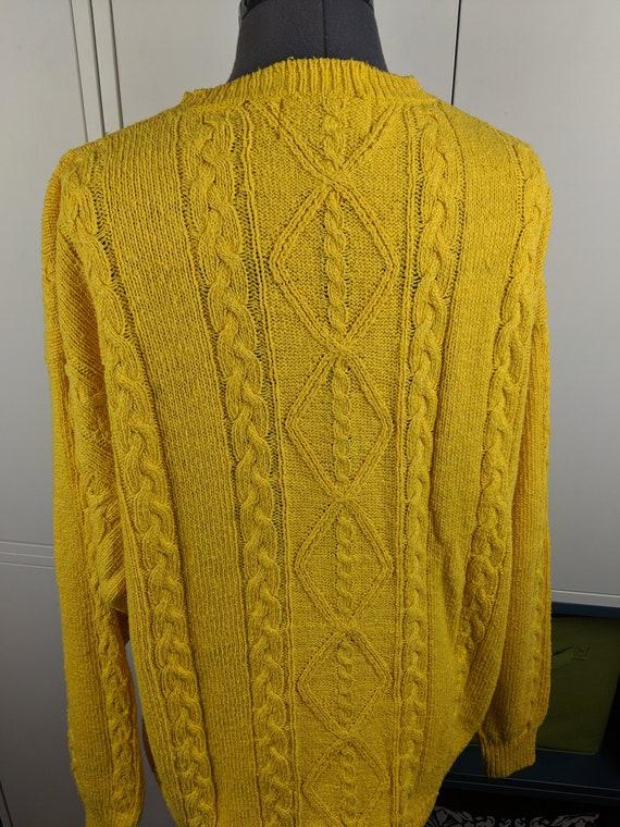 90's Perry Ellis sweater sz L - image 3