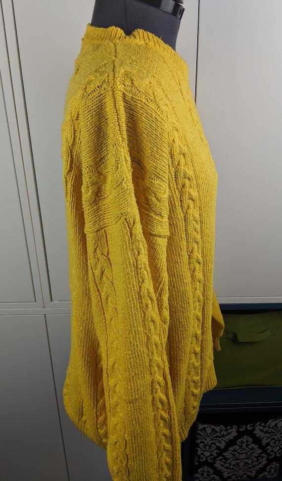 90's Perry Ellis sweater sz L - image 2