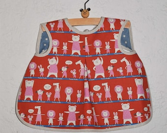 PDF Aiden & Ava Reversible Baby Bib Sewing Pattern in a PDF for Digital Download