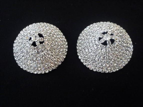 cb176124e1a95 Rhinestone nipple pasties cover body jewelry lingerie