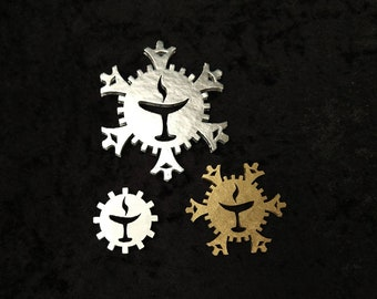 Unitarian Snowflake Accent Add-On for Ornaments