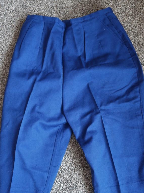 NOS 1960s Vintage 60s Pedal Pushers Capris Pants B