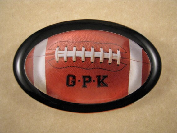 Personalised Glass Football Award//Paperweight Presentation Box Custom Engraved