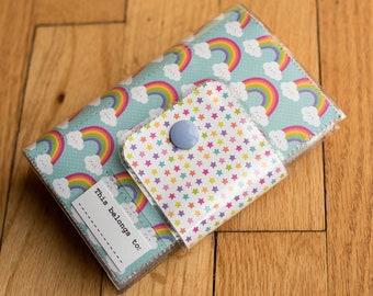 Kids Travel Crayon Wallet - Rainbow Smile