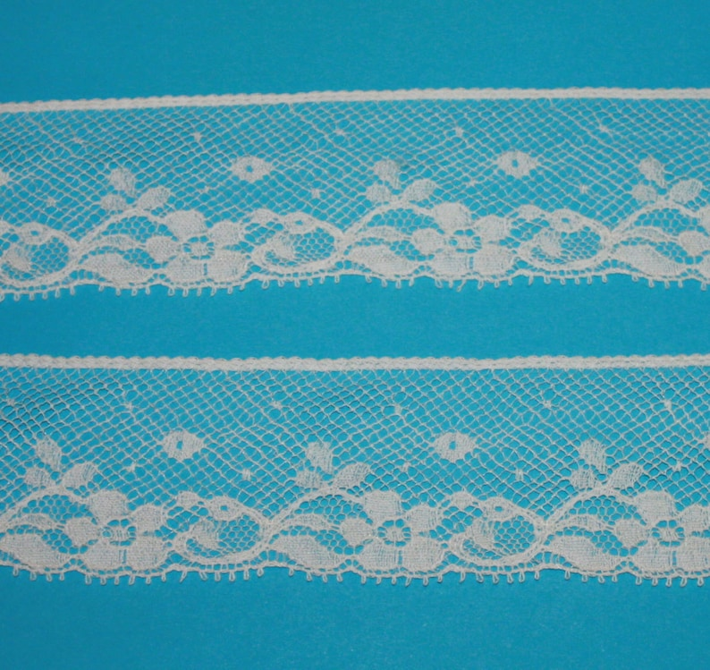 Ecru French Lace Edging by the Yard image 0