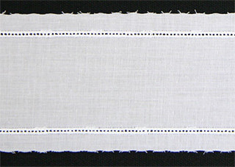 Ivory Swiss Insertion With Entredeaux  per yard image 0