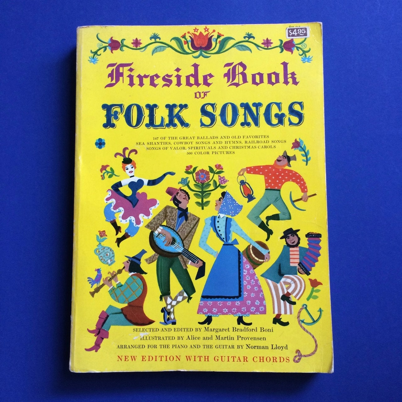 Fireside Book Of Folk Songs 1947 Illustrated By Alice And Etsy