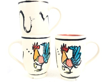 be27c6145 Red Rooster Mug: Infamous Key West Rooster