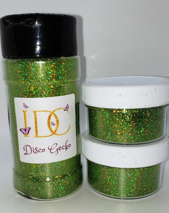 Nails Glass Quality Fine Glitter Cards DISCO BLACK Crafts