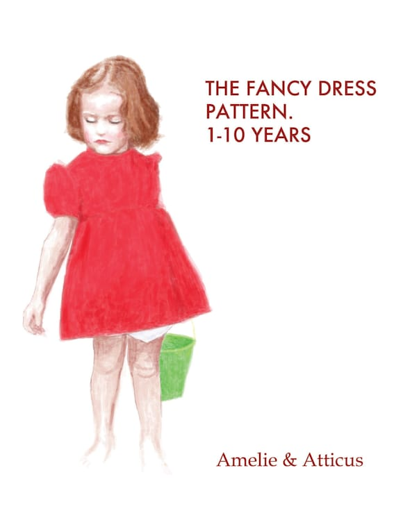 PDF Costume Pattern The Fancy Dress and Bloomers Cosplay