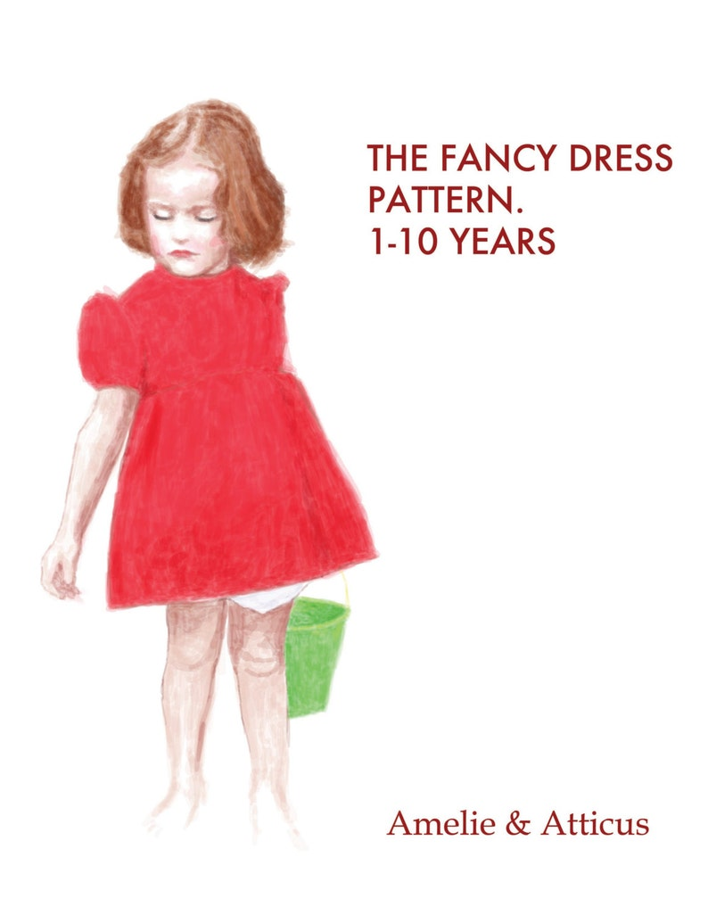 PDF Costume Pattern  The Fancy Dress and Bloomers Cosplay image 0