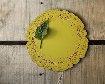 Wood doily - table decor - hostess gift - housewarming gift - 10 dollar gift
