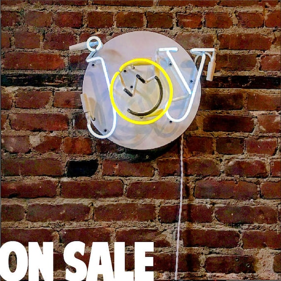JOY Neon Sign, Ready-made ON SALE