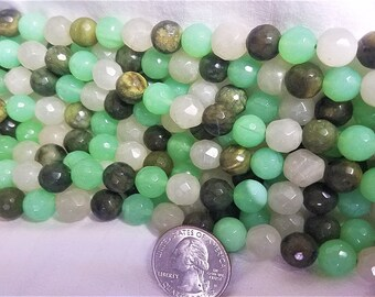 agate strand Mix in spring colors
