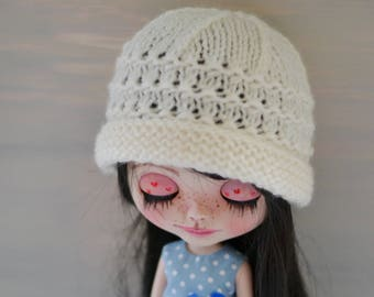 Cream Dolls Beanie Hat, Dolls Hat, Dolls Beanie Hat, Other Colours