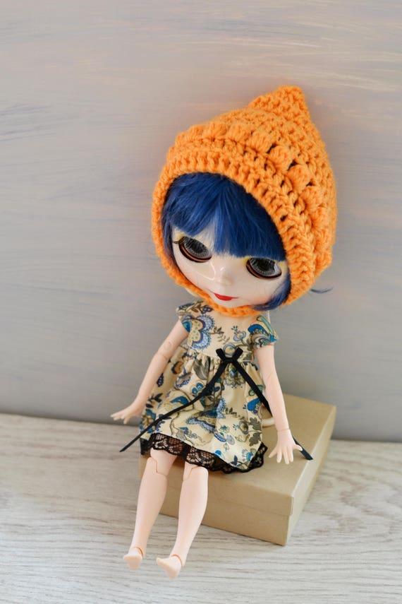 Andere Farben Puppen Orange Häkeln Elf Elf Mütze Etsy