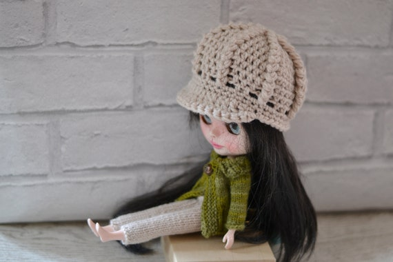 Dolls NewsBoy Hat Stone Baker Boy Dolls Beanie Hat Dolls  3b96b11767c6