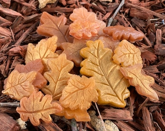 Autumn Leaf Soap - Fall - Mothers Day - Grandma - Party Favor - Fall Leaves - Leaf Soap