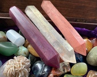 Quartz Healing Wand Soap - Healing Crystals - Vegan