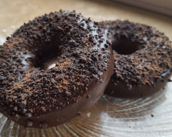 Donut Soap - Chocolate Crumb Donut Soap - Doughnut -Cake - Fake Food - Chocolate Soap - Food Prop - Dessert Soap - Fathers Day