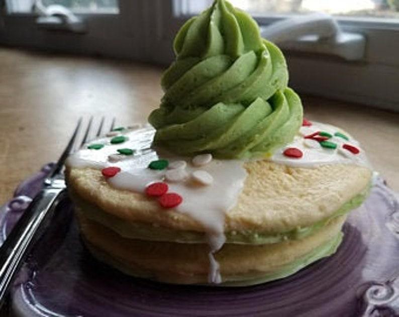 Christmas Pancakes Soap  Christmas  Pancake  Holiday  Kids image 0