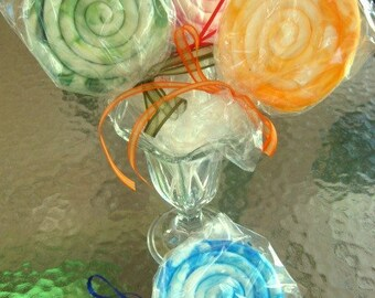 Lollipop Soap - Kid in a Candy Store Candy Soap - Candy Soap - Lollipop - Novelty Soap - Gift for her