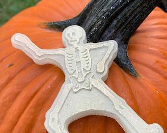 Glowing Ghoul Halloween Soap - skeleton - horror -Halloween - trick or treat - glow in the dark