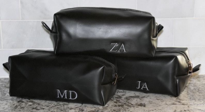 Groomsmen Gift Groom Proposal Men S Shaving Bag Etsy