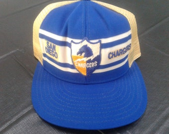 Old Skool San Diego Chargers Mesh Back Ball Cap