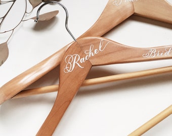 Wedding Hangers Personalized | Handpainted