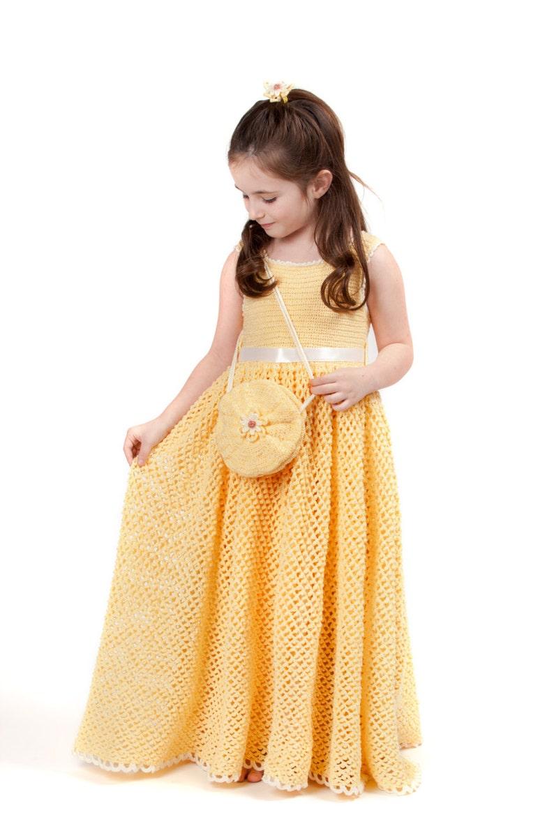 8c6892ca2bf5b8 Zomer Debbie van Sunshine madeliefjes kinderen gehaakte jurk