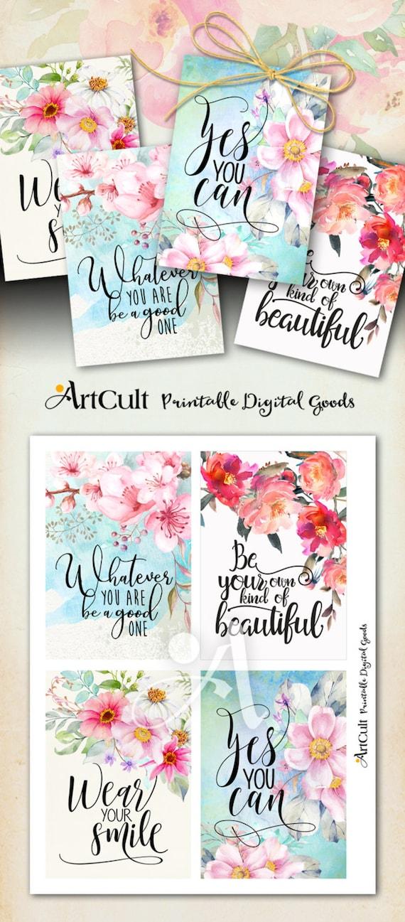 Printable motivational greeting cards no5 digital download etsy image 0 m4hsunfo