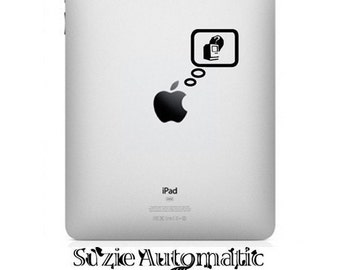 Reminiscing Apple iPad Decal