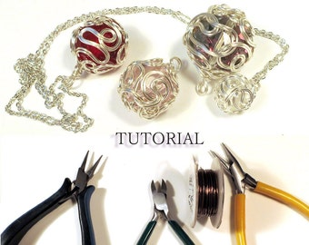 Tutorial - Wire-Wrapped Ball Pendant